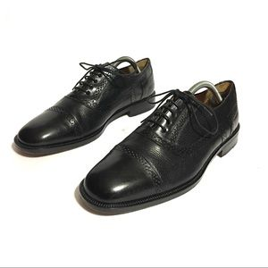 Mezlan Leather Cap Toe Dress Oxford Shoes Sz 9.5